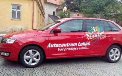 Na Horečkyfestu bude vystaven nový vůz Škoda Rapid s polepem festivalu