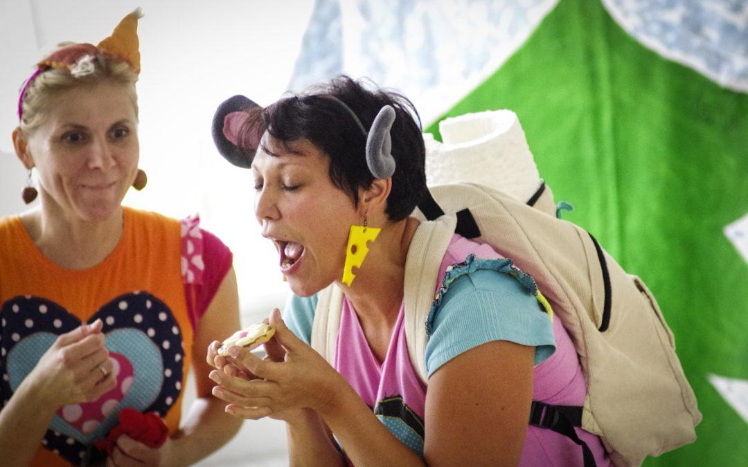 Veverka Terka a myška Klárka vezmou děti za strašidly a na vodu