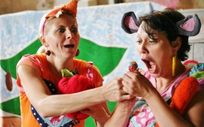 Veverka Terka a Myška Klárka přivezou pohádky plné poučení i legrace